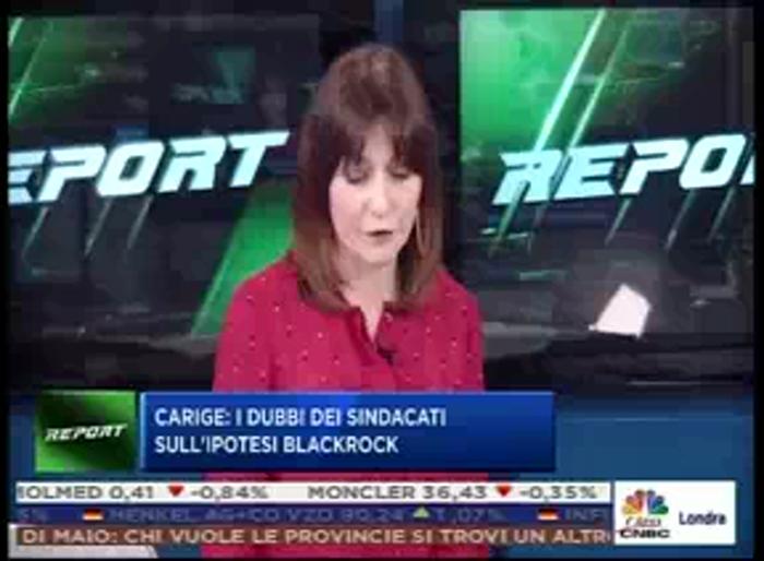 SILEONI A CLASS CNBC: NO A LICENZIAMENTI IN CARIGE