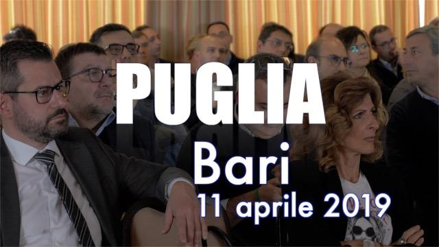 Tappa a Bari per la Puglia - Contratto on the road