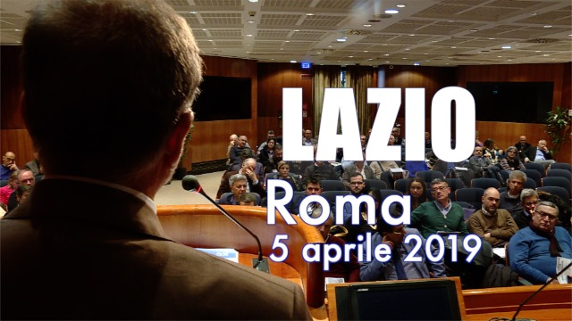 Tappa a Roma per  il Lazio-Contratto on the road
