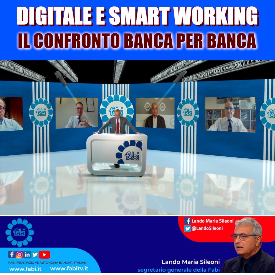 DIGITALE E SMART WORKING, IL CONFRONTO BANCA PER BANCA