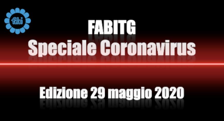 FabiTG speciale Coronavirus - Edizione 29 maggio 2020