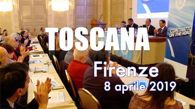 Tappa a Firenze per la Toscana -Contratto on the road