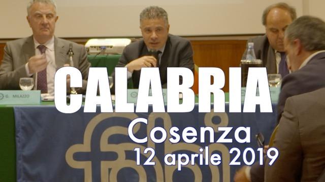 Tappa a Cosenza per la Calabria - Contratto on the road