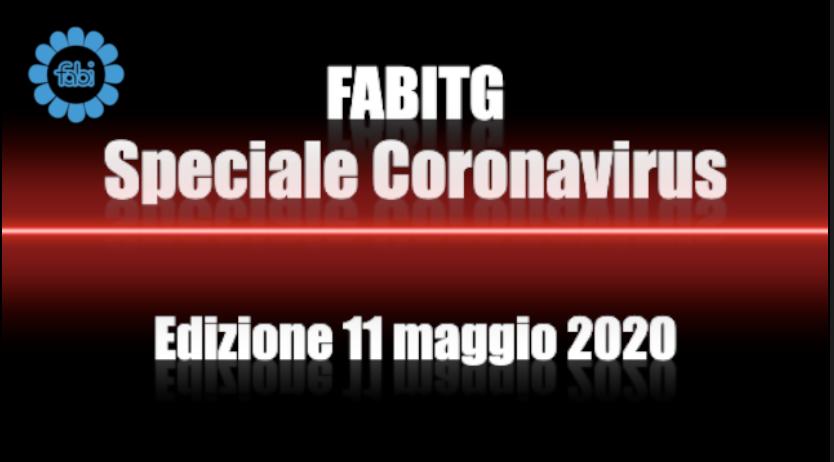 FabiTG speciale Coronavirus - Edizione 11 maggio 2020