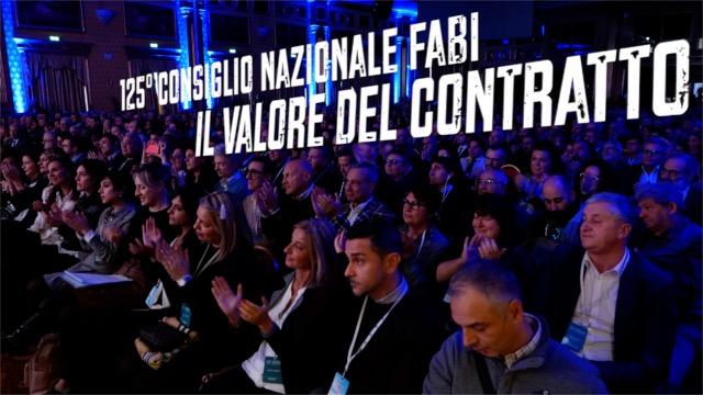 125° Consiglio Nazionale FABI - IL VIDEO. Volti e parole dei protagonisti al grande evento