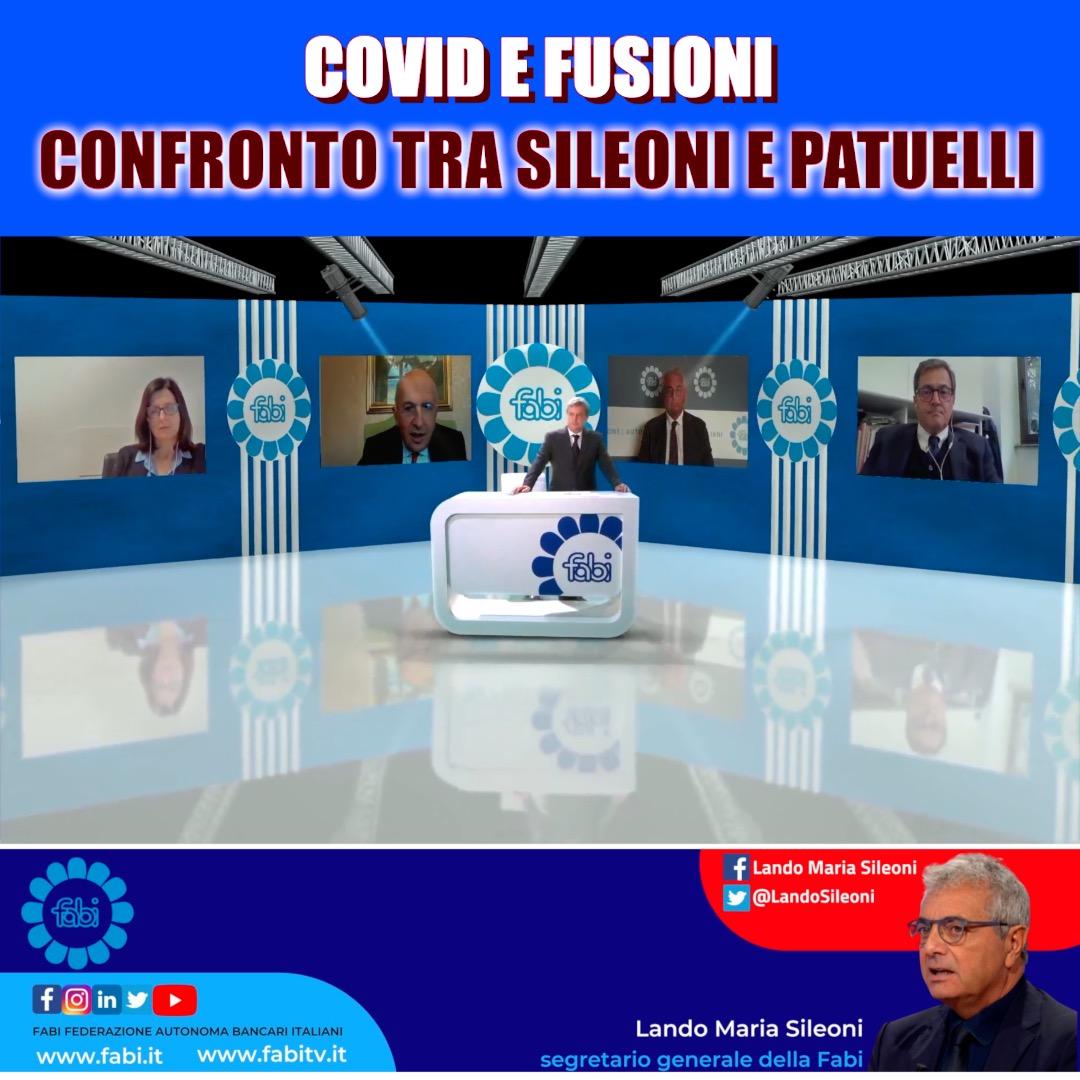 COVID E FUSIONI, CONFRONTO TRA SILEONI E PATUELLI