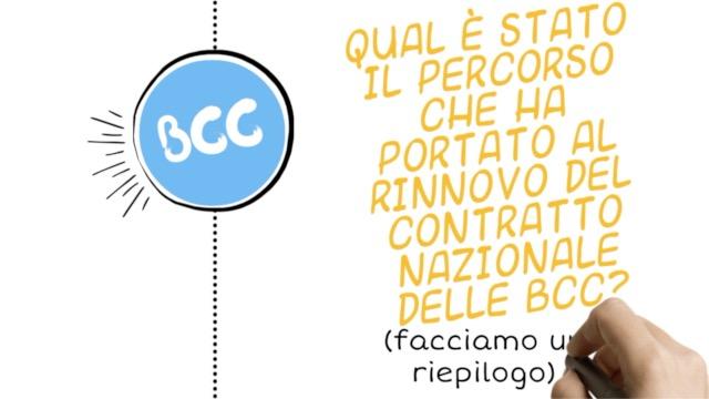 BCC, FACCIAMO UN RIEPILOGO - IL PERCORSO FINO AL RINNOVO DEL CONTRATTO