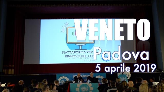 Tappa a Padova per il Veneto - Contratto on the road