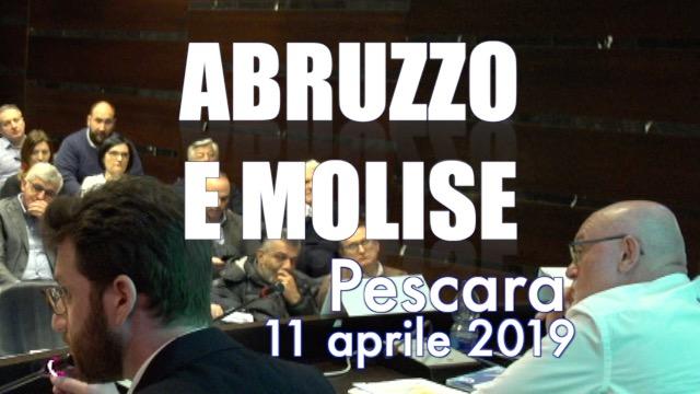 Tappa a Pescara per l'Abruzzo e il Molise -Contratto on the road