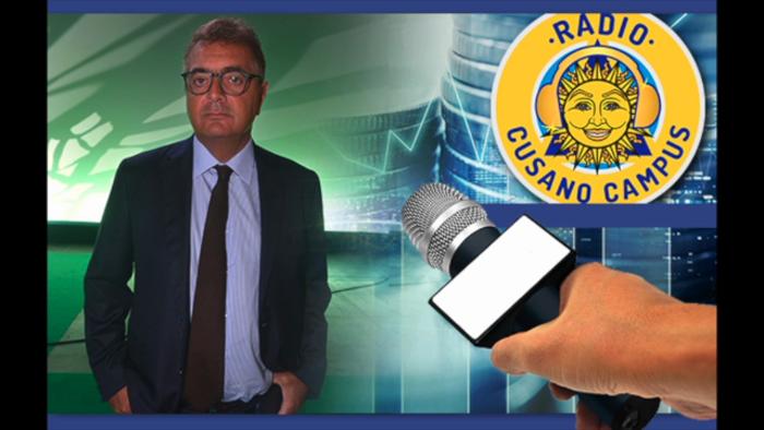 SILEONI A RADIO CUSANO CAMPUS: «LA BANCA DEL SUD? SERVONO MANAGER PREPARATI»