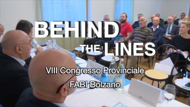 Congresso FABI Bolzano