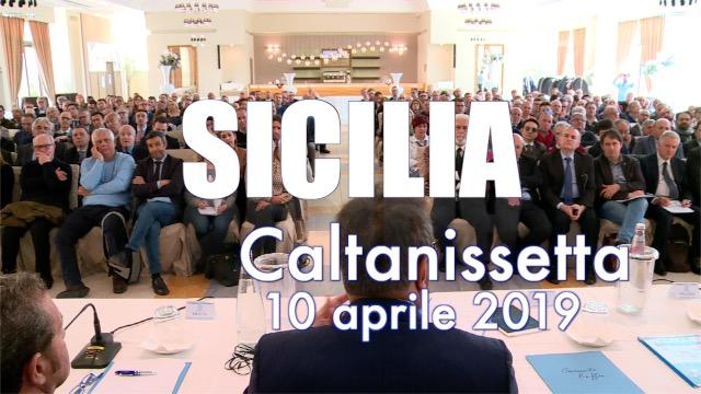 Tappa a Caltanissetta per la Sicilia - Contratto on the road