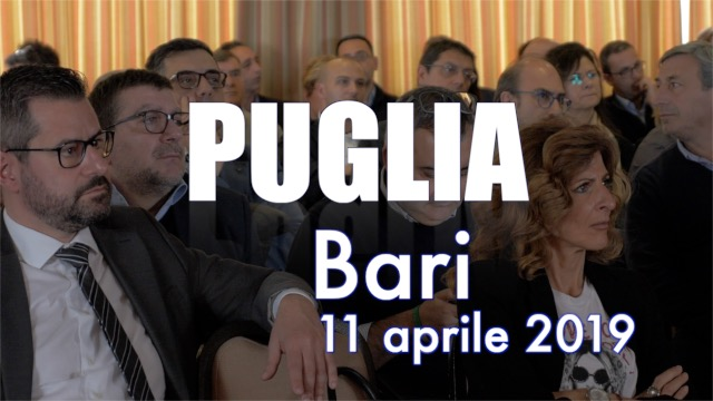 Tappa a Bari per la Puglia - Contratto on the road