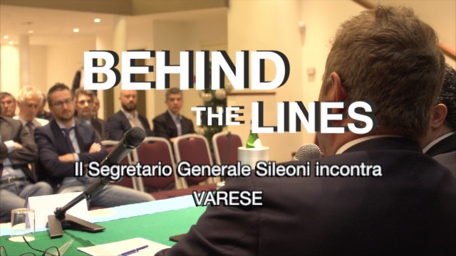 BEHIND THE LINES - Sileoni a Varese