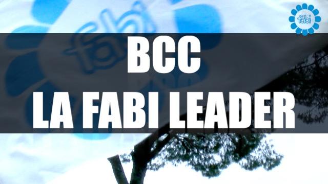BCC, LA FABI LEADER. ECCO LA NOSTRA SQUADRA IN CAMPO PER IL CREDITO COOPERATIVO