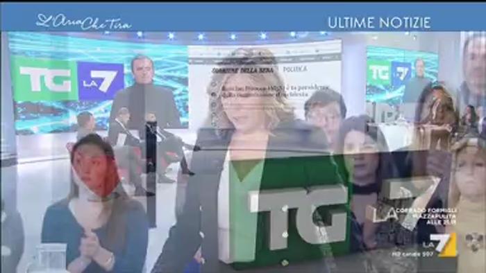 SALVATAGGIO DELLA POPOLARE DI BARI, SILEONI A LA7